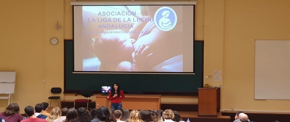 La Liga de La Leche en la Facultad de Medicina de Málaga 1